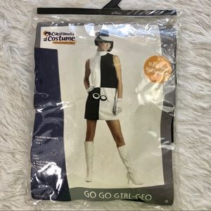 California costumes mod go-go girl outfit